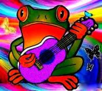 peace frog 1