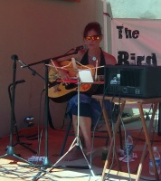 Playing at The Bird Stop yesterday