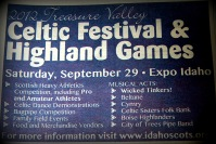 Celtic Fest Ad 2012