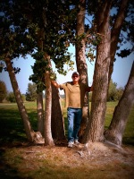 Mike in the Tree