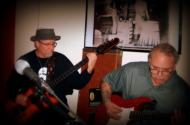 Brother Bob and Todd's Friend sitting in on guitar