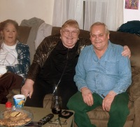Grace, Mom & Dan